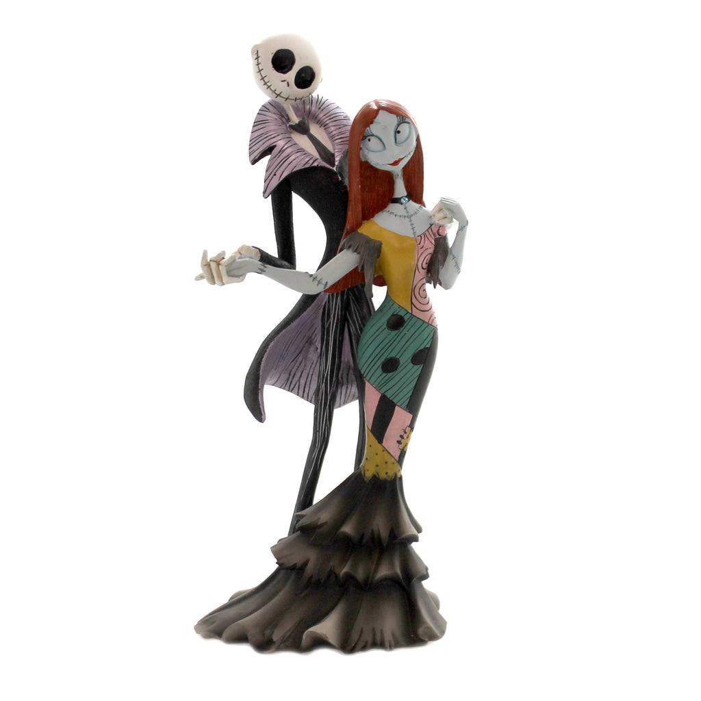Disney JACK & SALLY Polyresin Nightmare Before Christmas 6002184