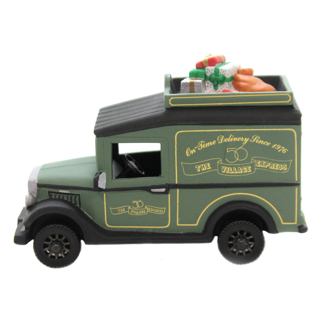 Department 56 Accessory VILLAGE EXPRESS VAN. Christmas In The City 58653.