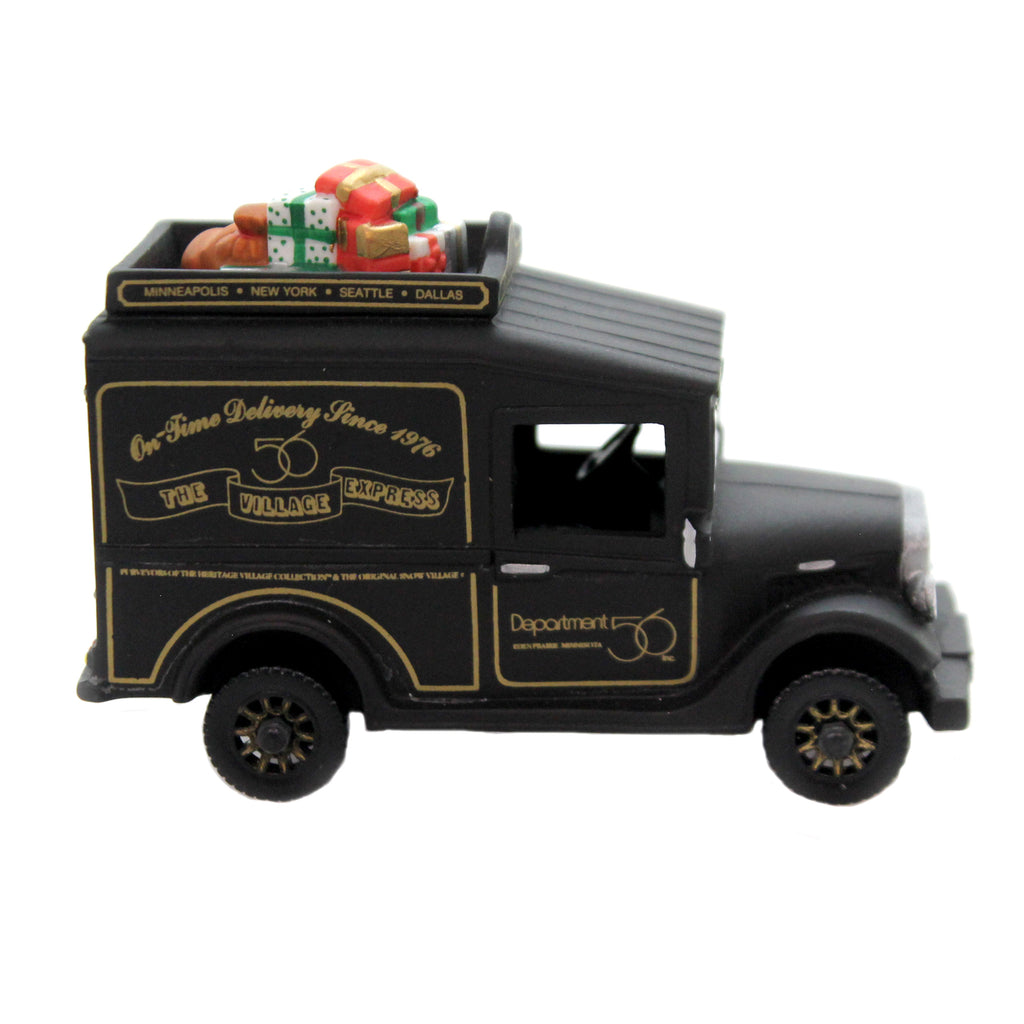 Department 56 Accessory VILLAGE EXPRESS VAN SPECIAL ED 94 Gathering Christmas In City 7374
