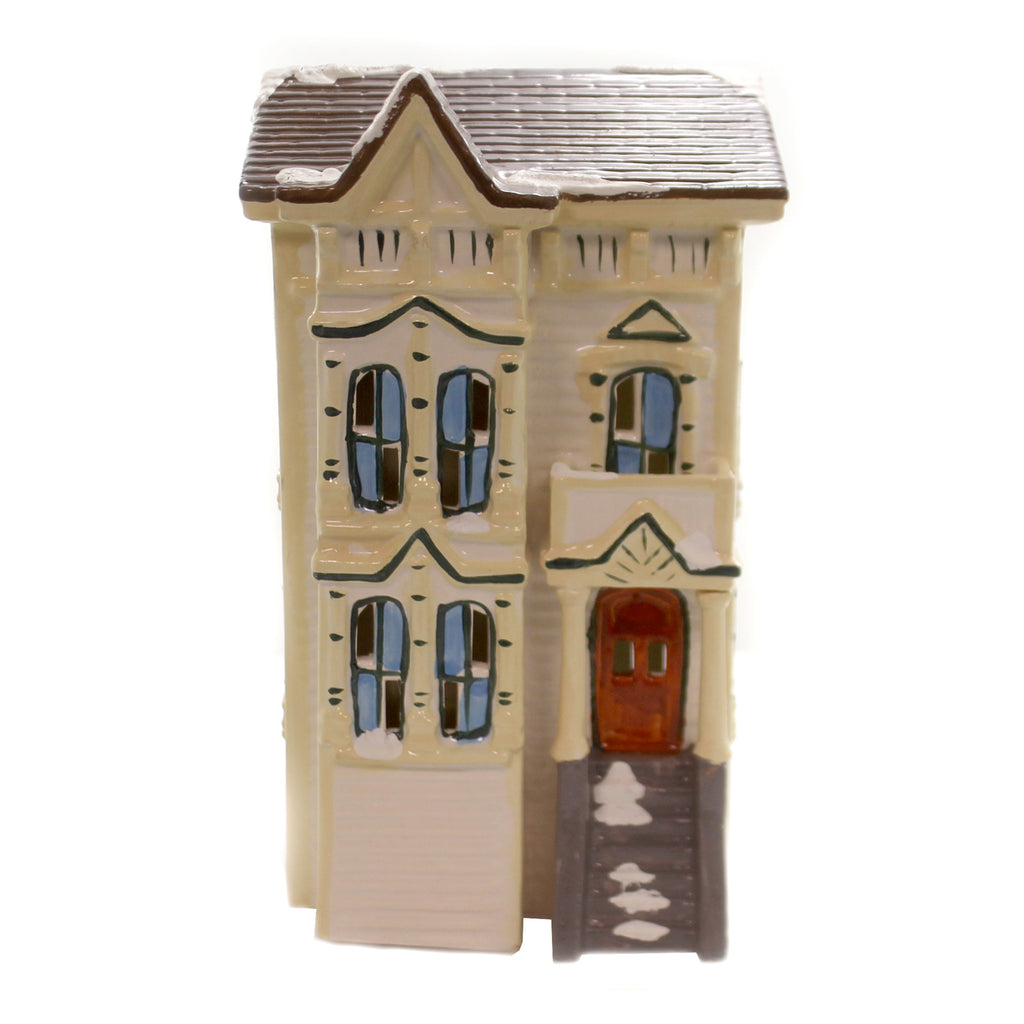 Department 56 House PACIFIC HEIGHTS Ceramic Original Snow Village 50660