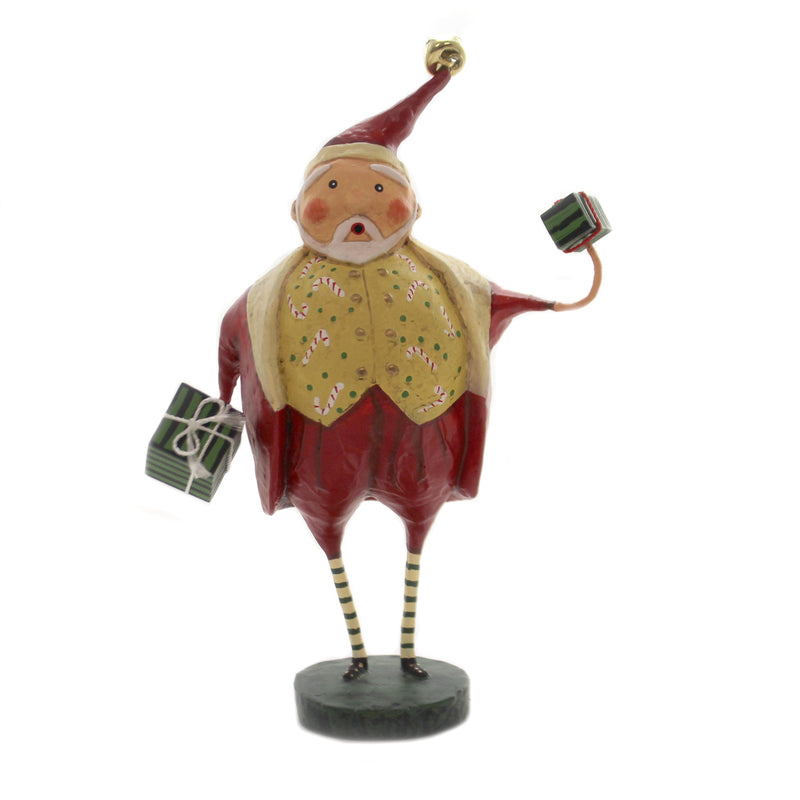 Lori Mitchell JOLLY GOOD FUN Polyresin Christmas Santa Gifts 11155