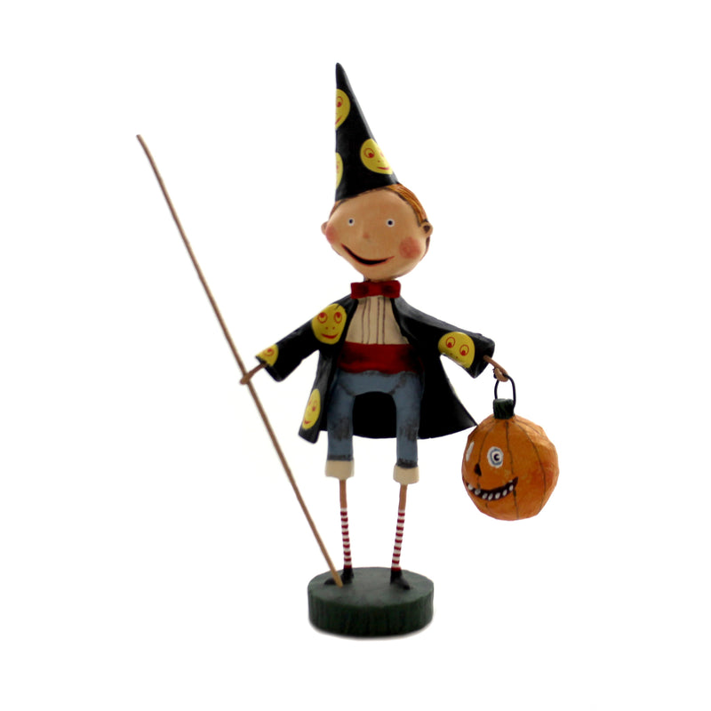 Lori Mitchell SIMON THE SORCERER Polyresin Halloween 11156