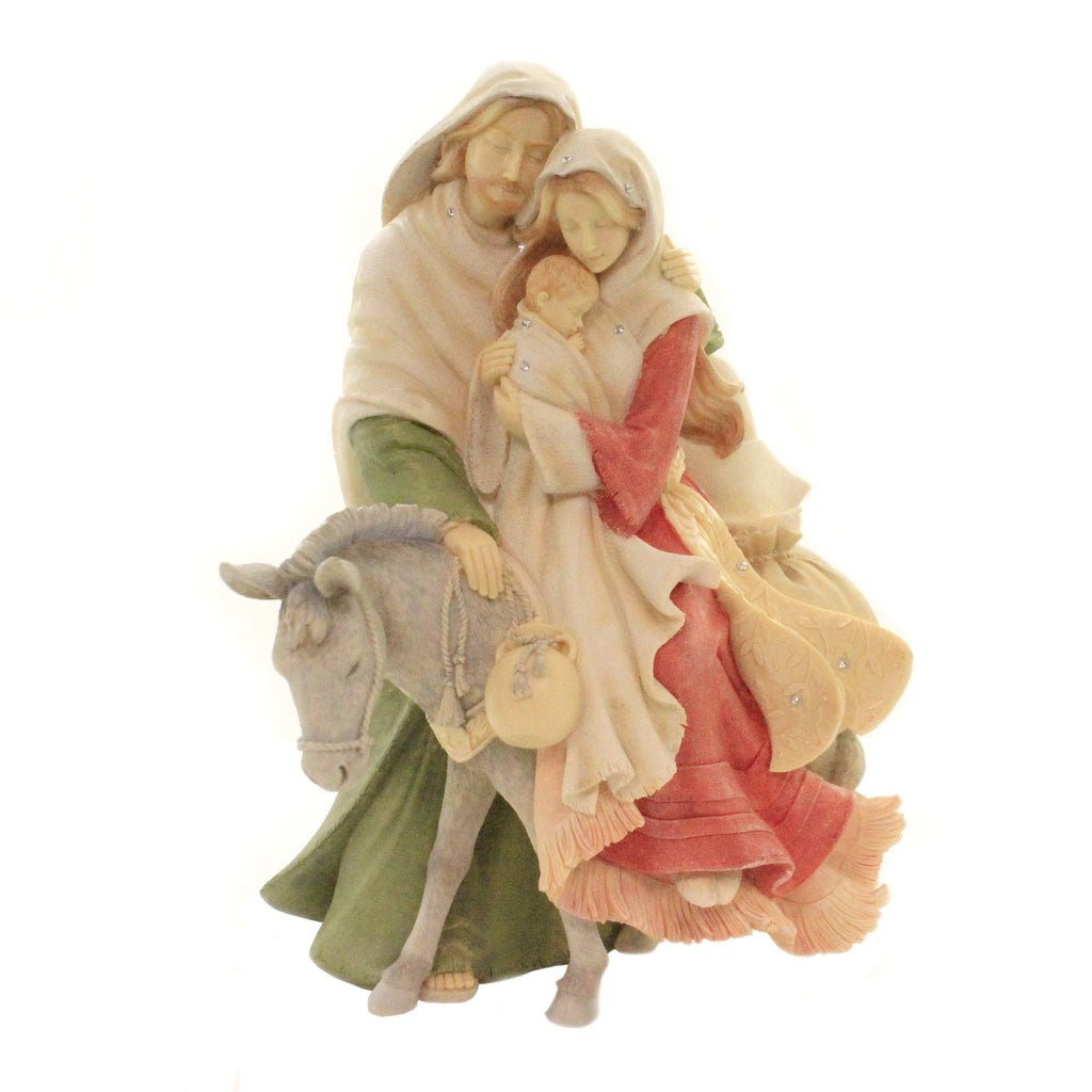 Christmas HOLIDAY HOLY FAMILY Polyresin Nativity 6003907
