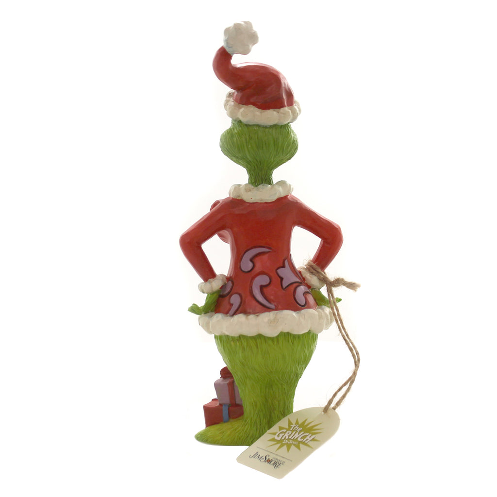 Jim Shore GRINCH WITH BIG HEART Polyresin Dr. Seuss 6004065