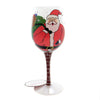 Tabletop SANTA'S STUCK Glass Lolita Wine Glass 6002981
