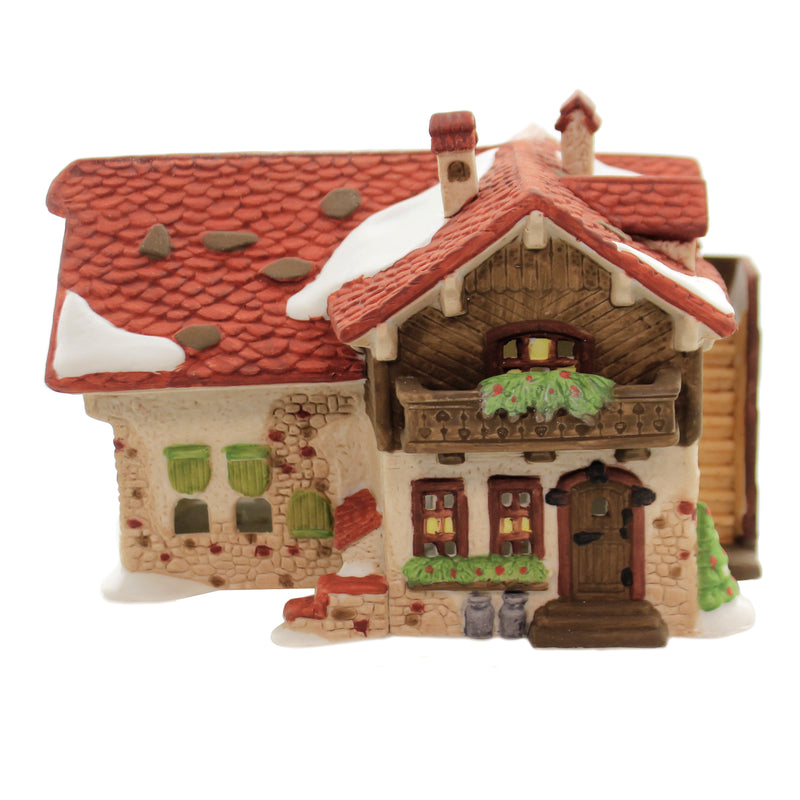Department 56 House JOSEF ENGEL FARMHOUSE Porcelain Alpine Village Series 59528
