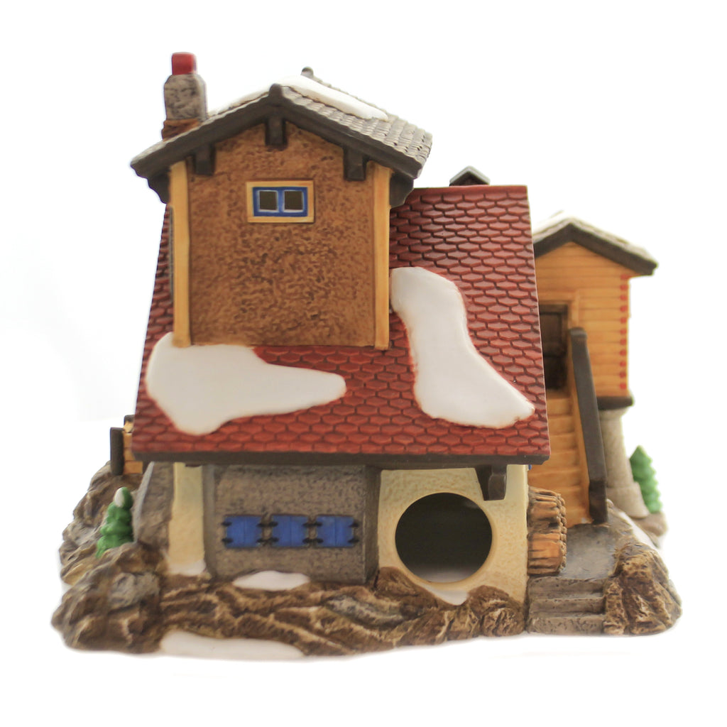 Department 56 House BERNHARDINER HUNDCHEN Porcelain Alpine Village Series 56174