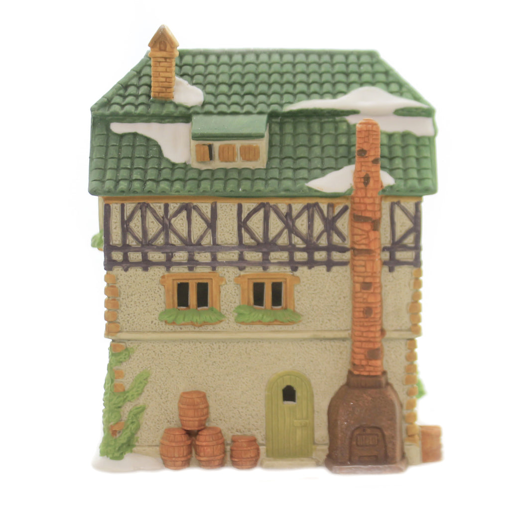 Department 56 House E. STAUBER BÄCKER Porcelain Alpine Village Series 65404