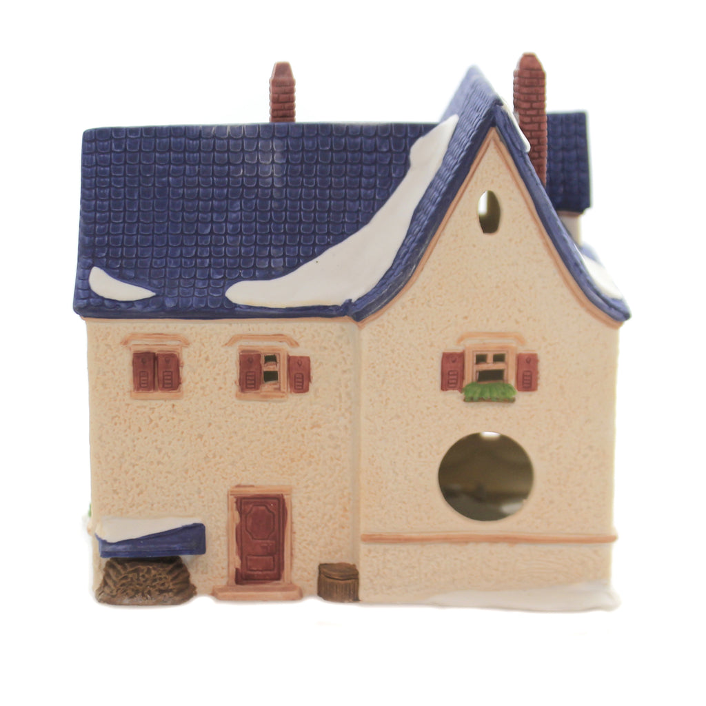 Department 56 House APOTEK AND TABAK Porcelain Alpine Village Series 65404.