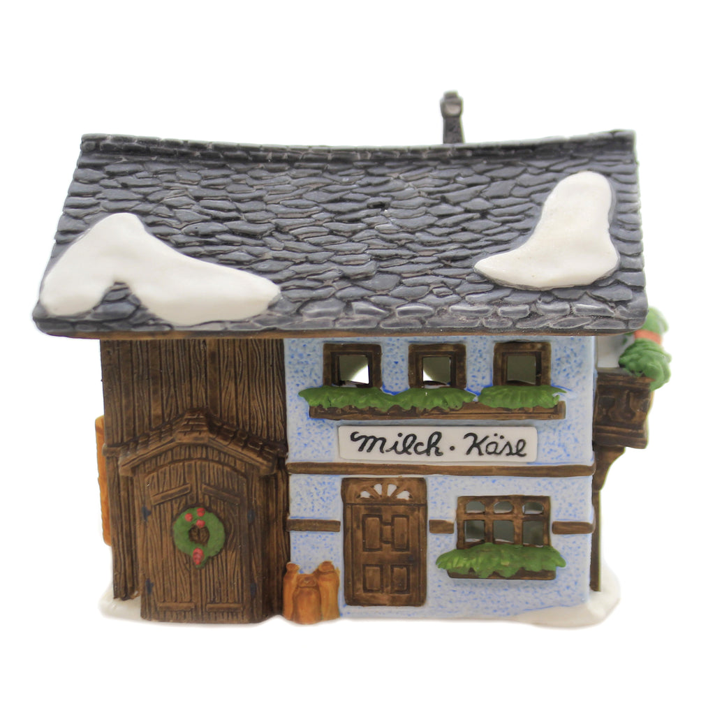 Department 56 House MILCH-KÄSE Porcelain Alpine Village Series 65404..