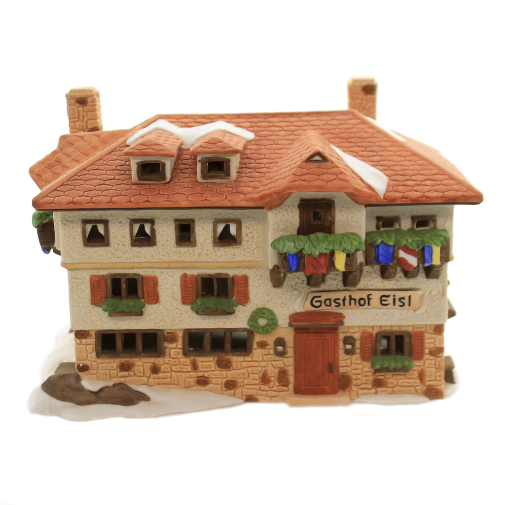 Department 56 House GASTHOF EISL Porcelain Alpine Village Series 65404...