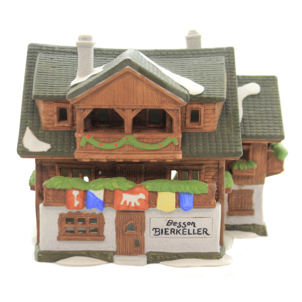 Department 56 House BESSON BIERKELLER Porcelain Alpine Village Series 65404....