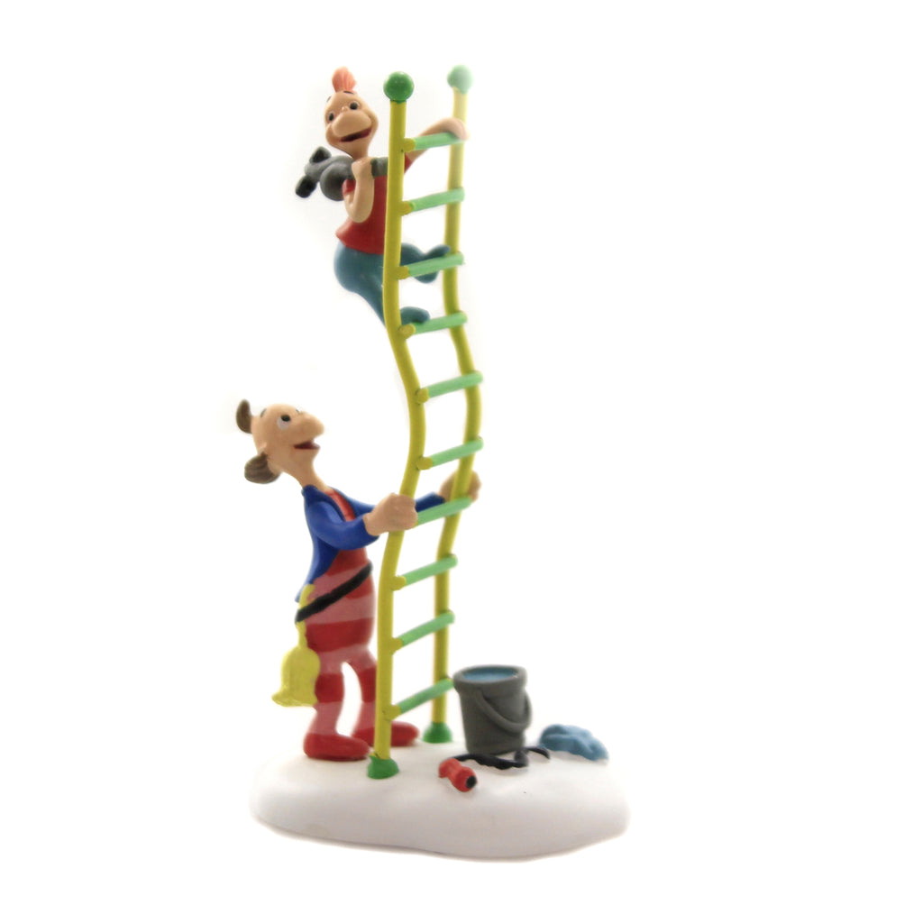 Department 56 Accessory LITTLE FLUE WHO Polyresin Dr Seuss The Grinch 6003321
