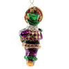 Christopher Radko THROW ME SOMETHIN', MISTER! Ornament Mardi Gras Beads Nola 1019875