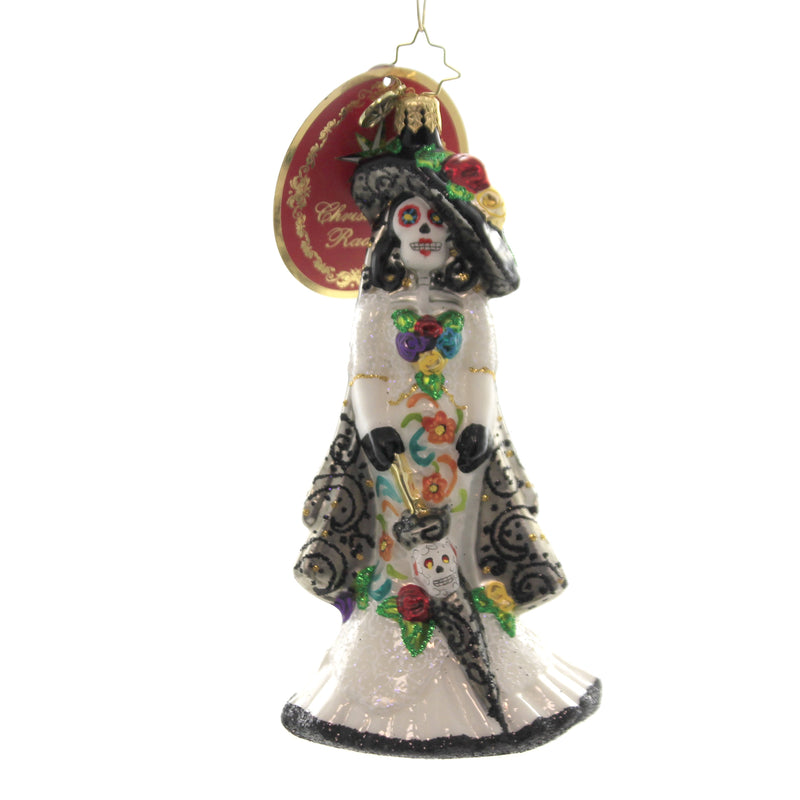Christopher Radko DIA DE LOS MUERTOS Ornament Day Of Dead Halloween 1019998