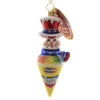 Christopher Radko REFRESHING TREAT Glass Ornament Popsicle Snow Cone 1020045