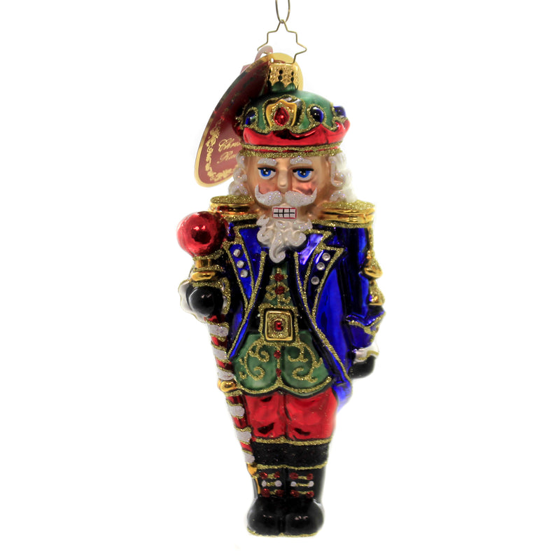 Christopher Radko COMMANDER OF THE NUTCRACKERS Christmas Ornament Staff 1019678