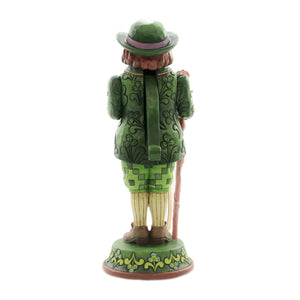 Jim Shore I'M QUITE CHARMING Polyresin Irish Nutcracker 6004244