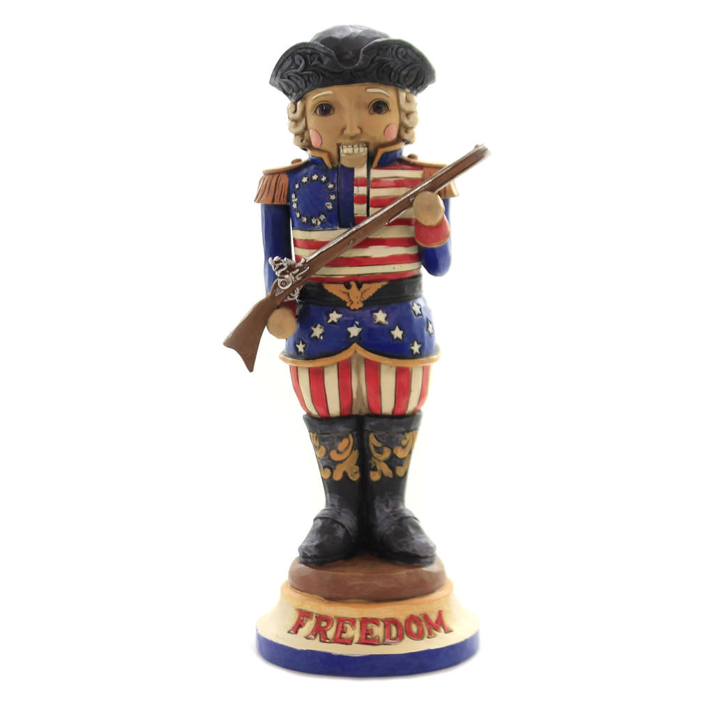 Jim Shore FREEDOM FIRST & FOREMOST Polyresin American Nutcracker 6004242