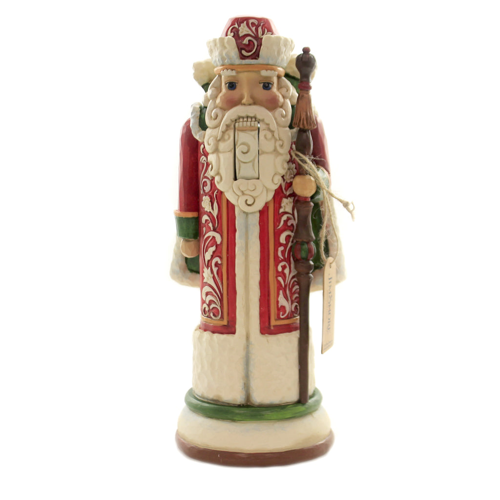 Jim Shore MERRY IN MOSCOW Polyresin Russian Nutcracker 6004243