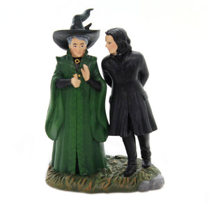 Department 56 Accessory SNAPE & McGONAGALL Polyresin Harry Potter 6003331