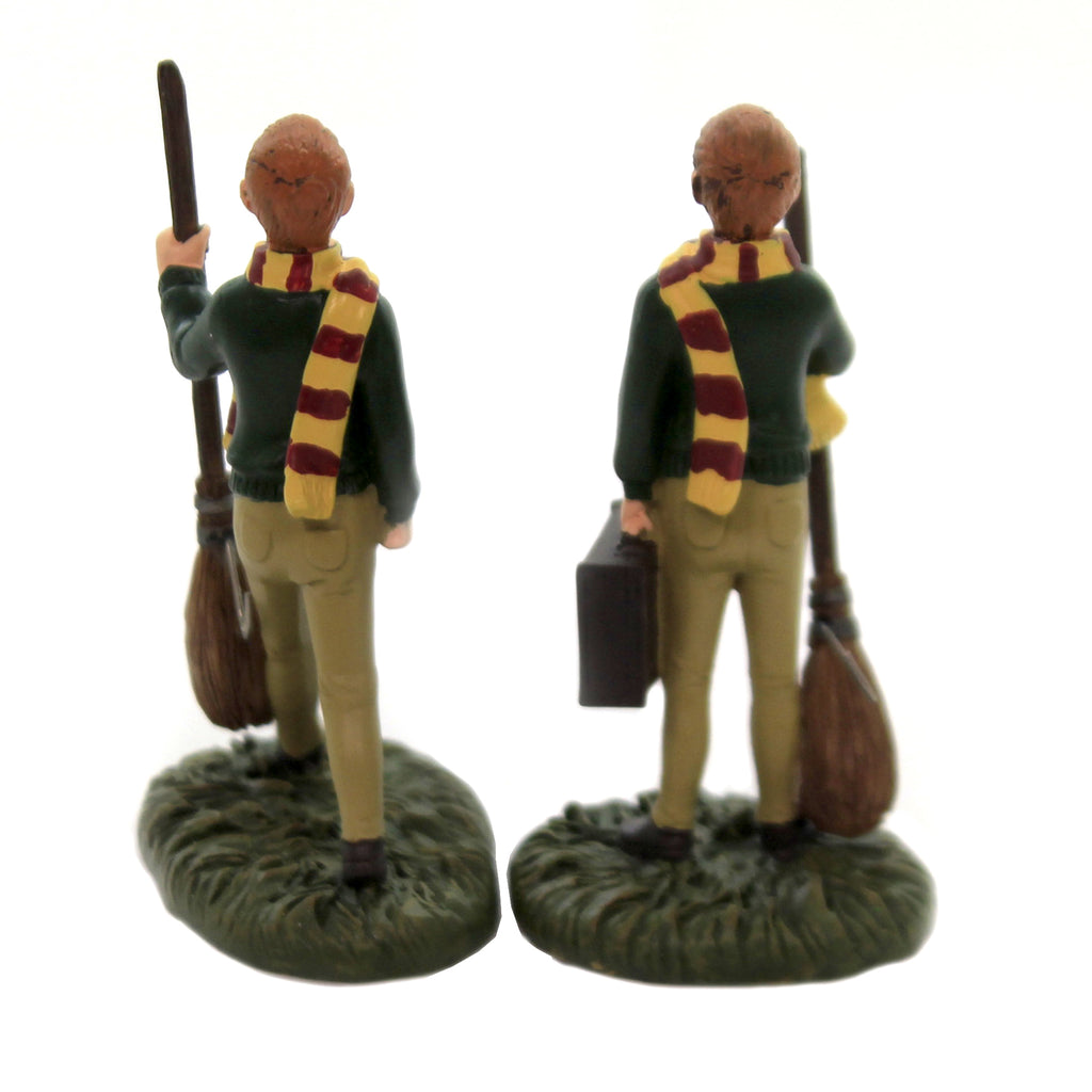 Department 56 Accessory FRED & GEORGE WEASLEY Polyresin Harry Potter 6003332