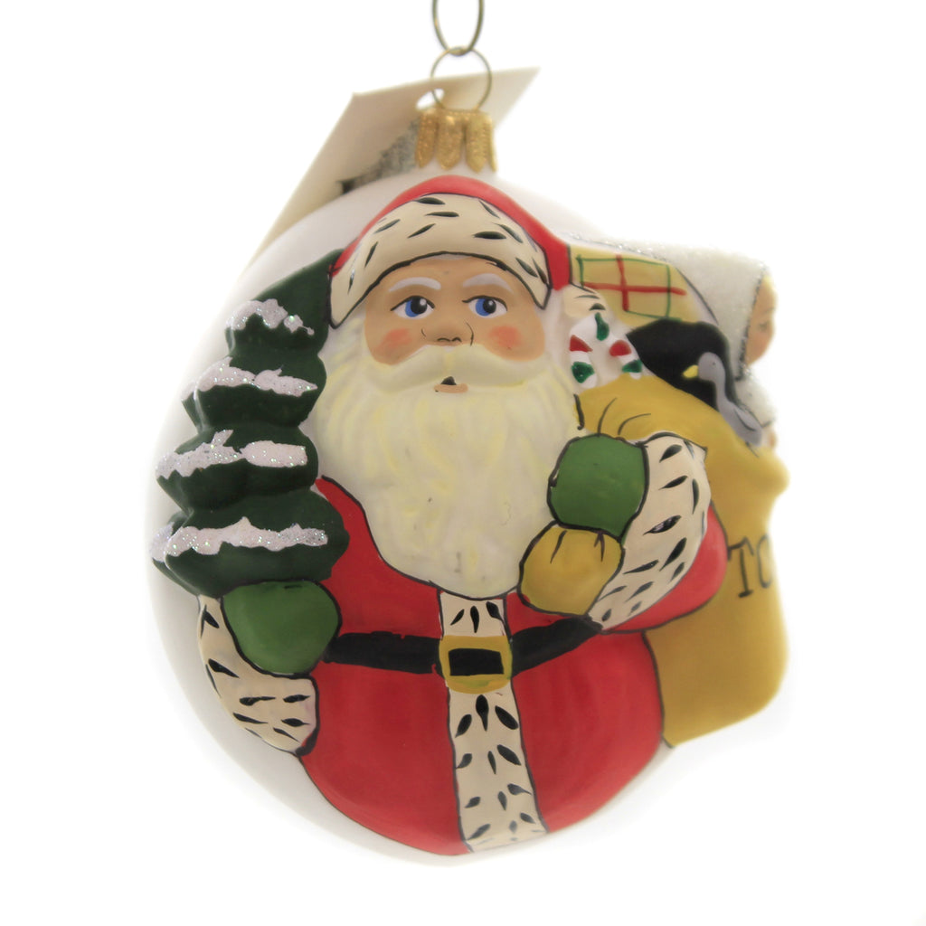 Holiday Ornaments SNOWSUIT BABY W/CANDLES SANTA Vaillancourt Jingle Ball Or19506