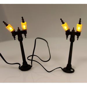 Dept 56 Accessories Halloween Street Lamps Village Halloween Lights