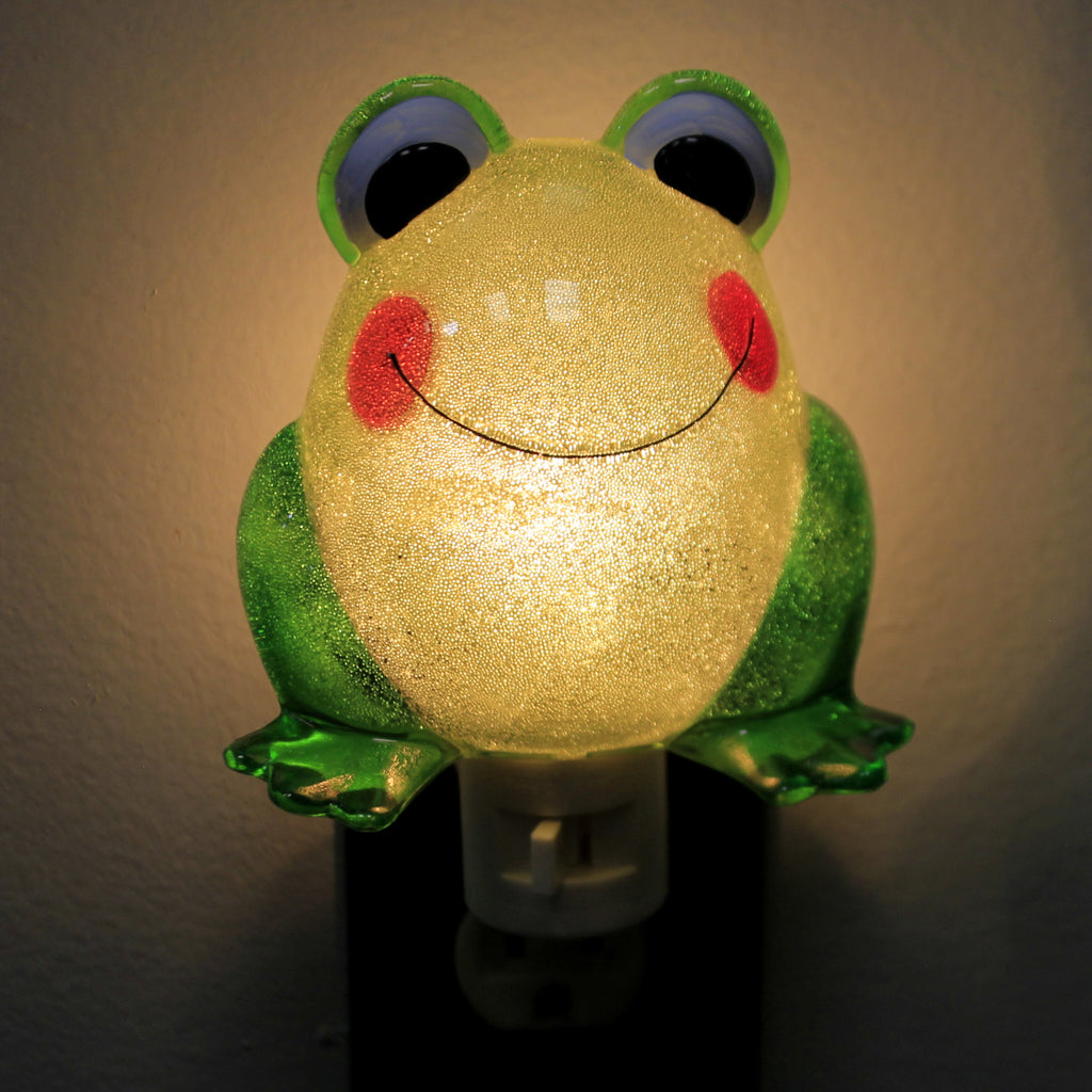 Home Decor FROG NIGHT LIGHT Acrylic Whimisical 309322