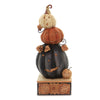 Jim Shore FEELIN' SPOOKY Polyresin Stacked Jack-O-Lanterns 6004238