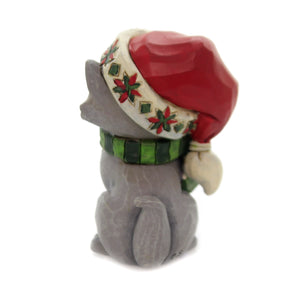 Jim Shore MINI CHRISTMAS KITTEN Polyresin Cats Holiday 6004295