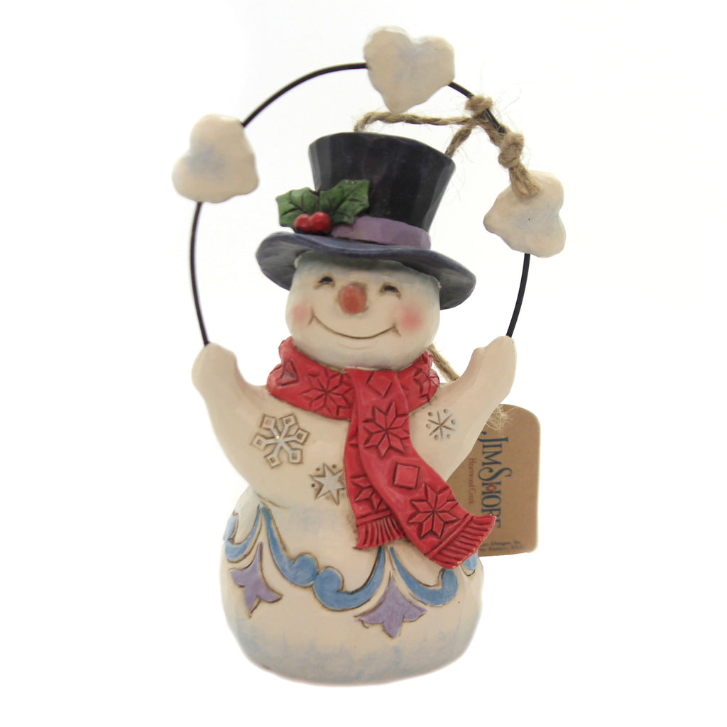 Jim Shore HEARTFELT HOLIDAYS Polyresin Hearts Christmas 6004288