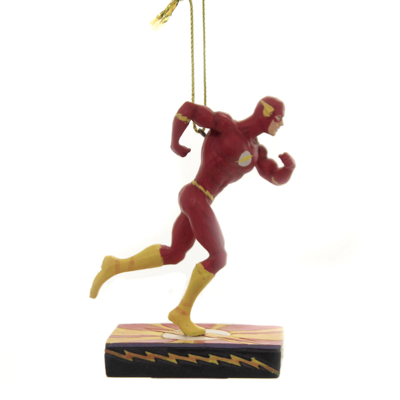 Jim Shore SCARLET SPEEDSTER ORNAMENT Polyresin Dc The Flash 6005075