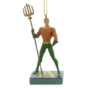 Jim Shore KING OF THE SEVEN SEAS ORNAMENT Polyresin Dc Aquaman 6005076