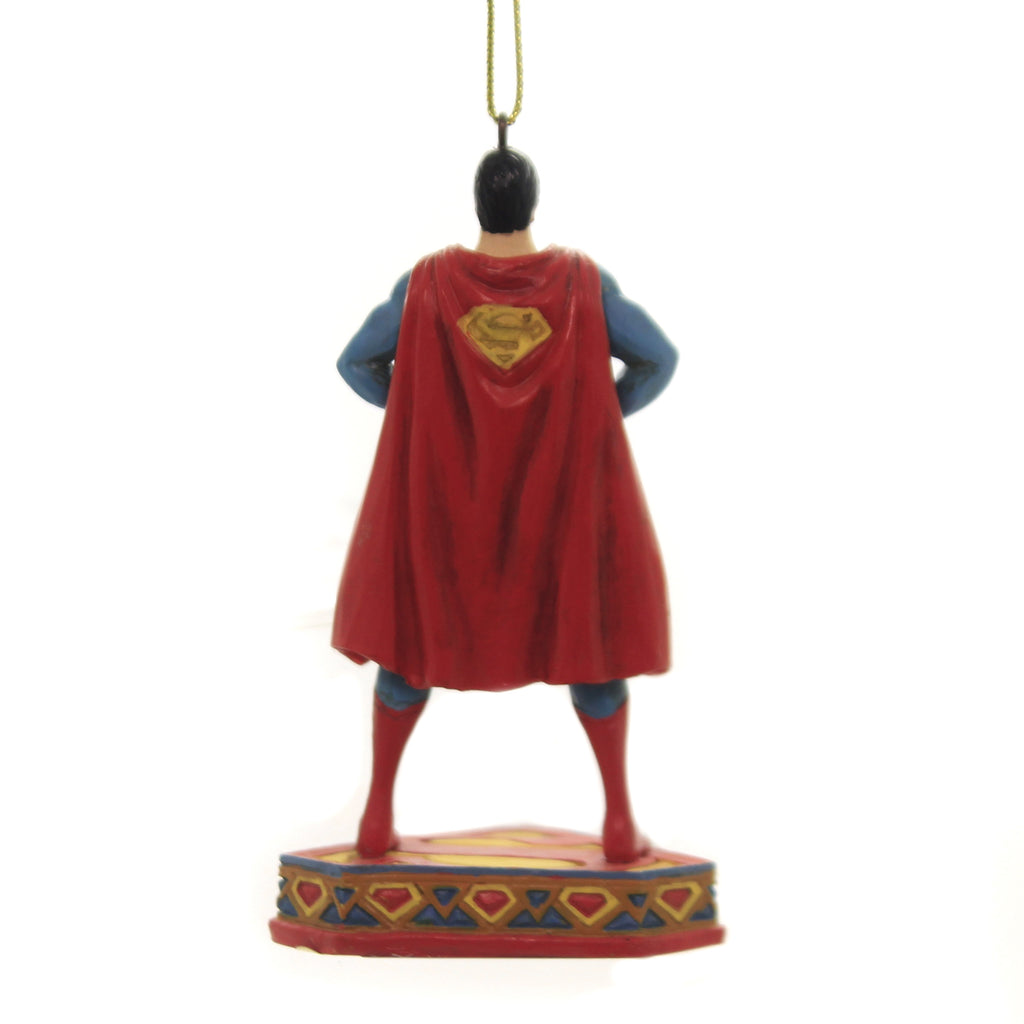 Jim Shore MAN OF STEEL ORNAMENT Polyresin Dc Superman 6005071