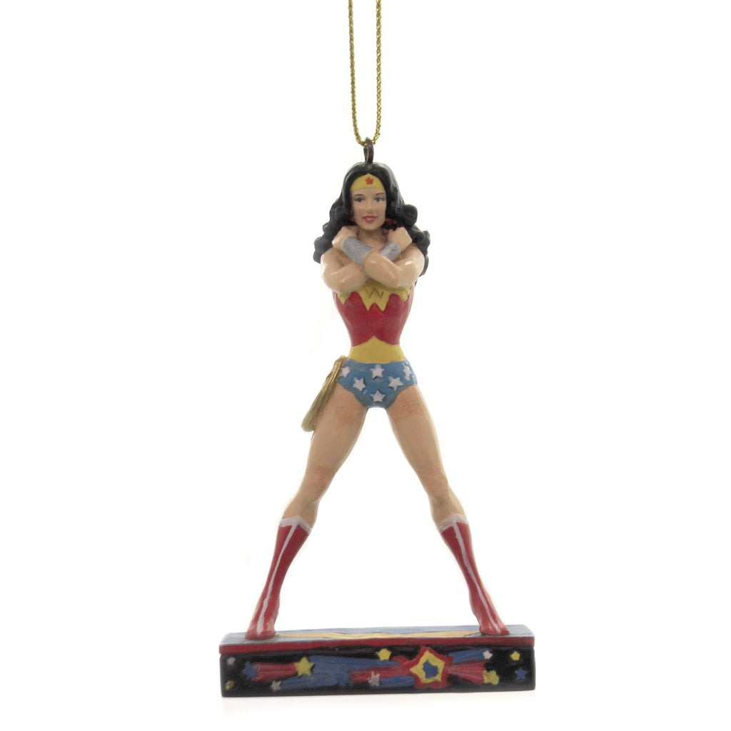 Jim Shore AMAZONIAN PRINCESS ORNAMENMT Polyresin Dc Wonder Woman 6005073