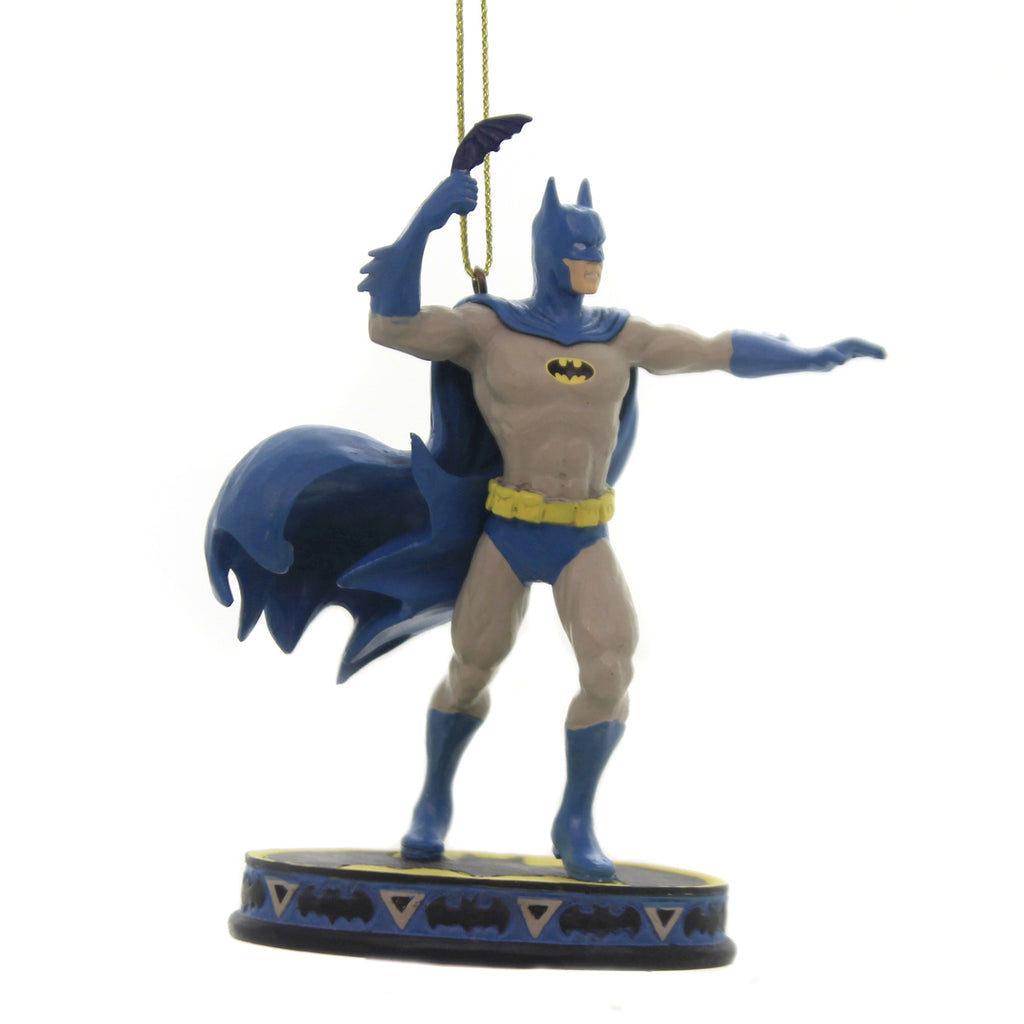 Jim Shore DARK KNIGHT DETECTIVE ORNAMENT Polyresin Dc Batman 6005072
