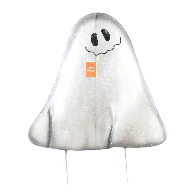 Halloween MESH GHOST YARD STAKE LG Wire Spirit Outside 9733723Lg