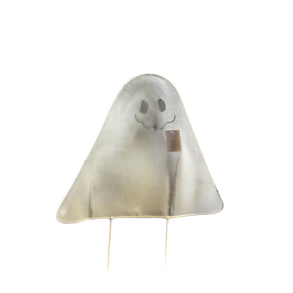 Halloween MEAH GHOST YARD STAKE SM Wire Outdoor Decor 9733723 Sm