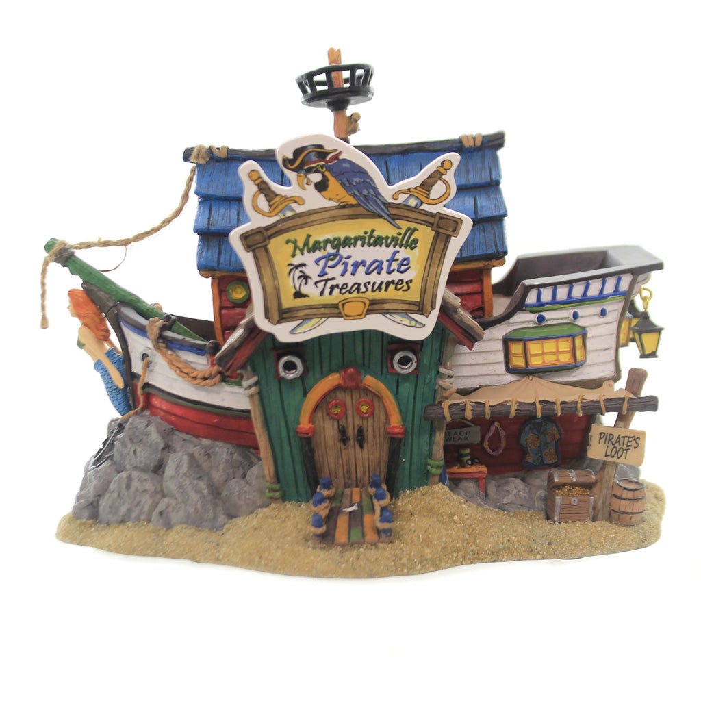 Department 56 House MARGARITAVILLE PIRATE TREASURES Ship Crow's Nest 6003322