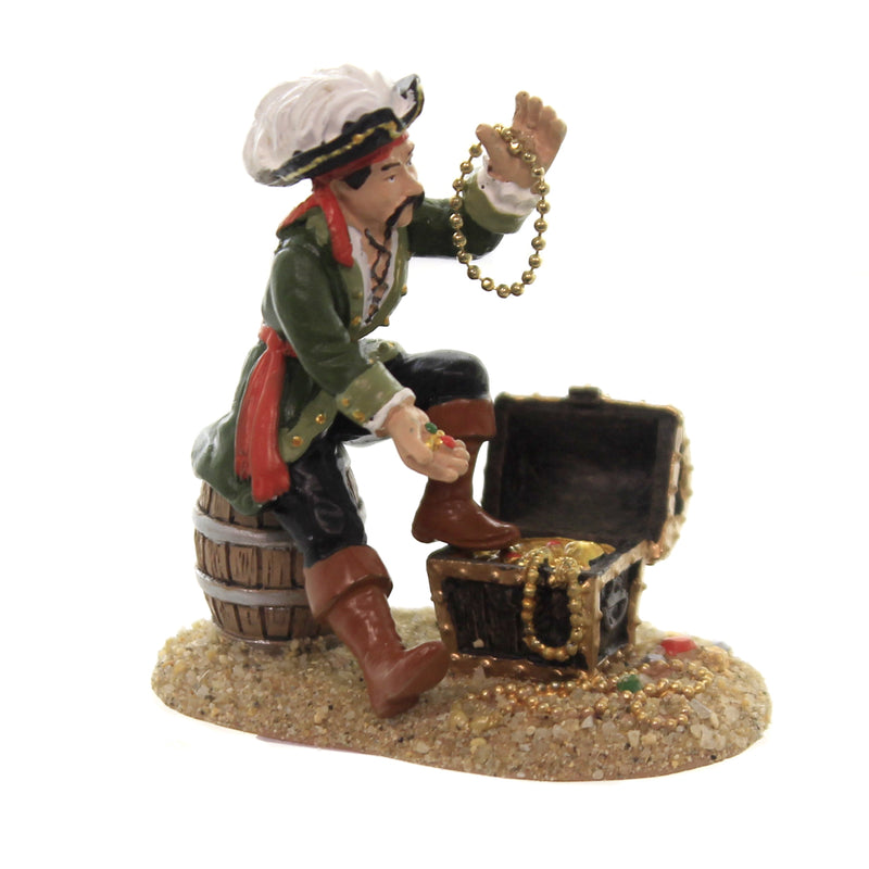 Department 56 Accessory A PIRATE & HIS TREASURES Margaritaville 6003323