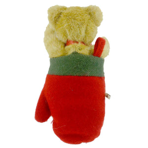 Boyds Bears Plush Cozy Toes Woolsey Christmas Plush