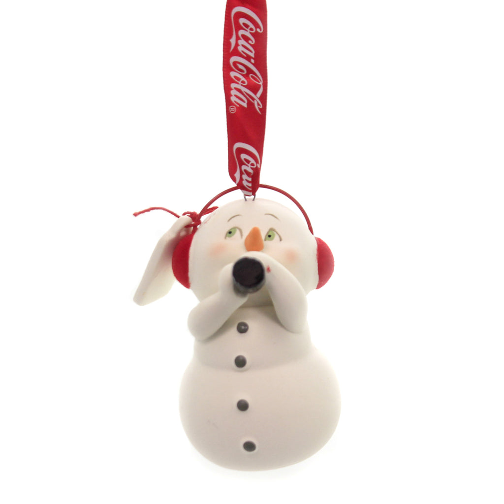 Holiday Ornaments TIME FOR A COKE SNOWPINION Porcelain Department 56 6003260