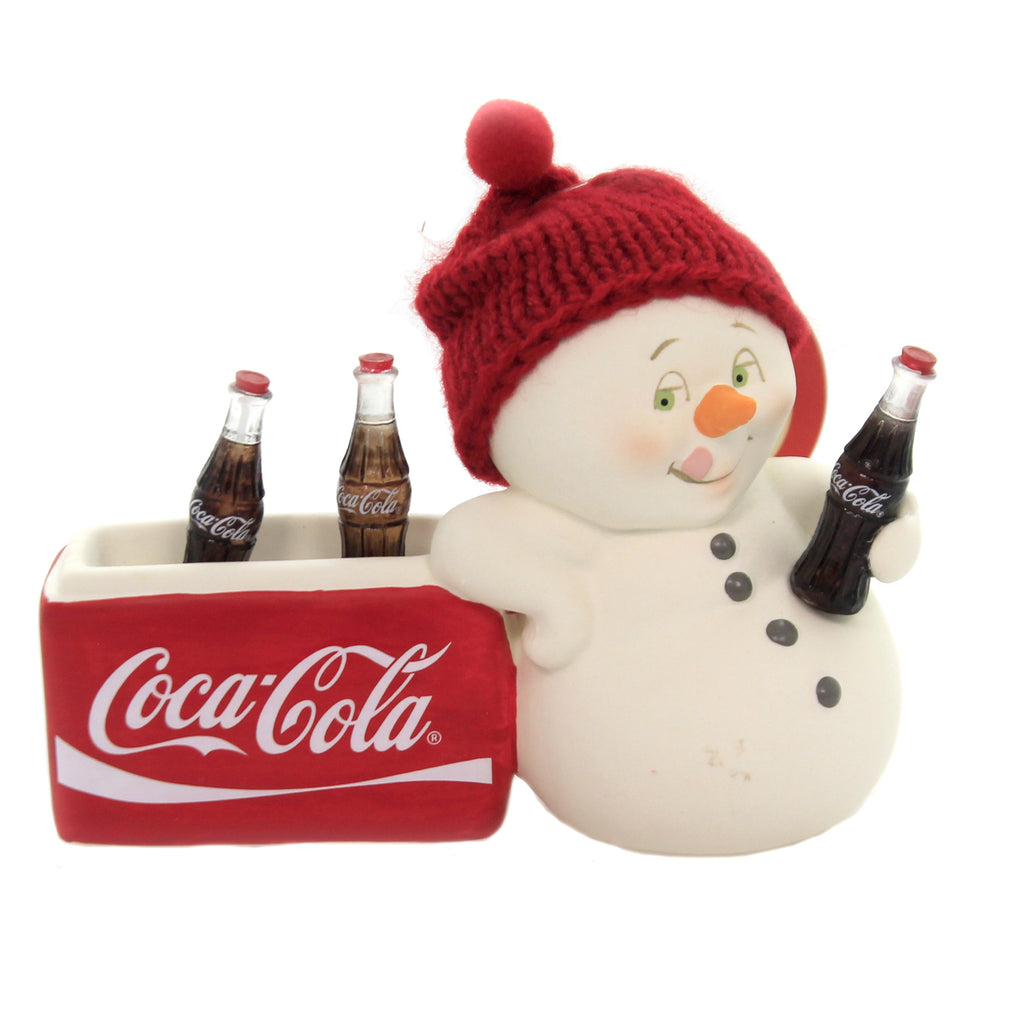 Christmas HAVE A COKE & A SMILE SNOWPINION Depart 56 Coca Cola 6003262