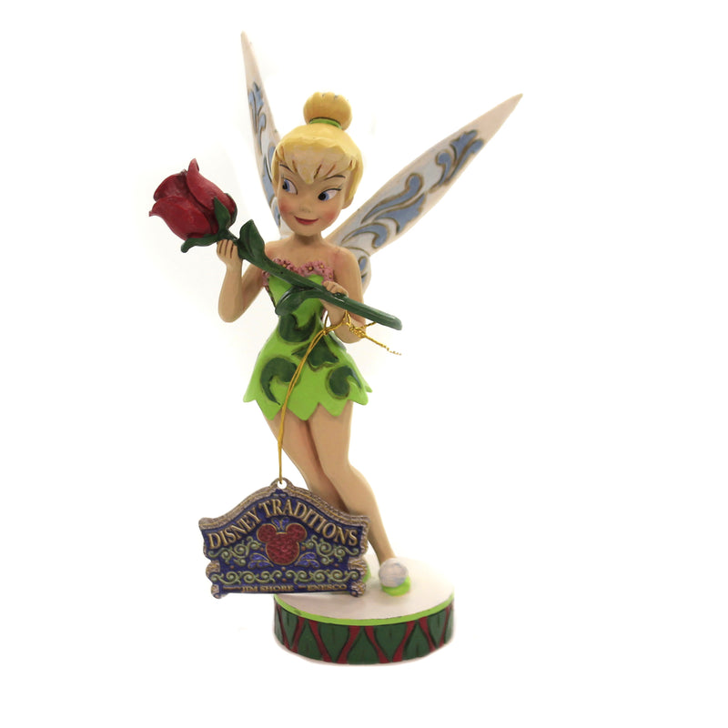 Jim Shore BELL IN BLOOM Polyresin Tinker Bell Summer 6002824
