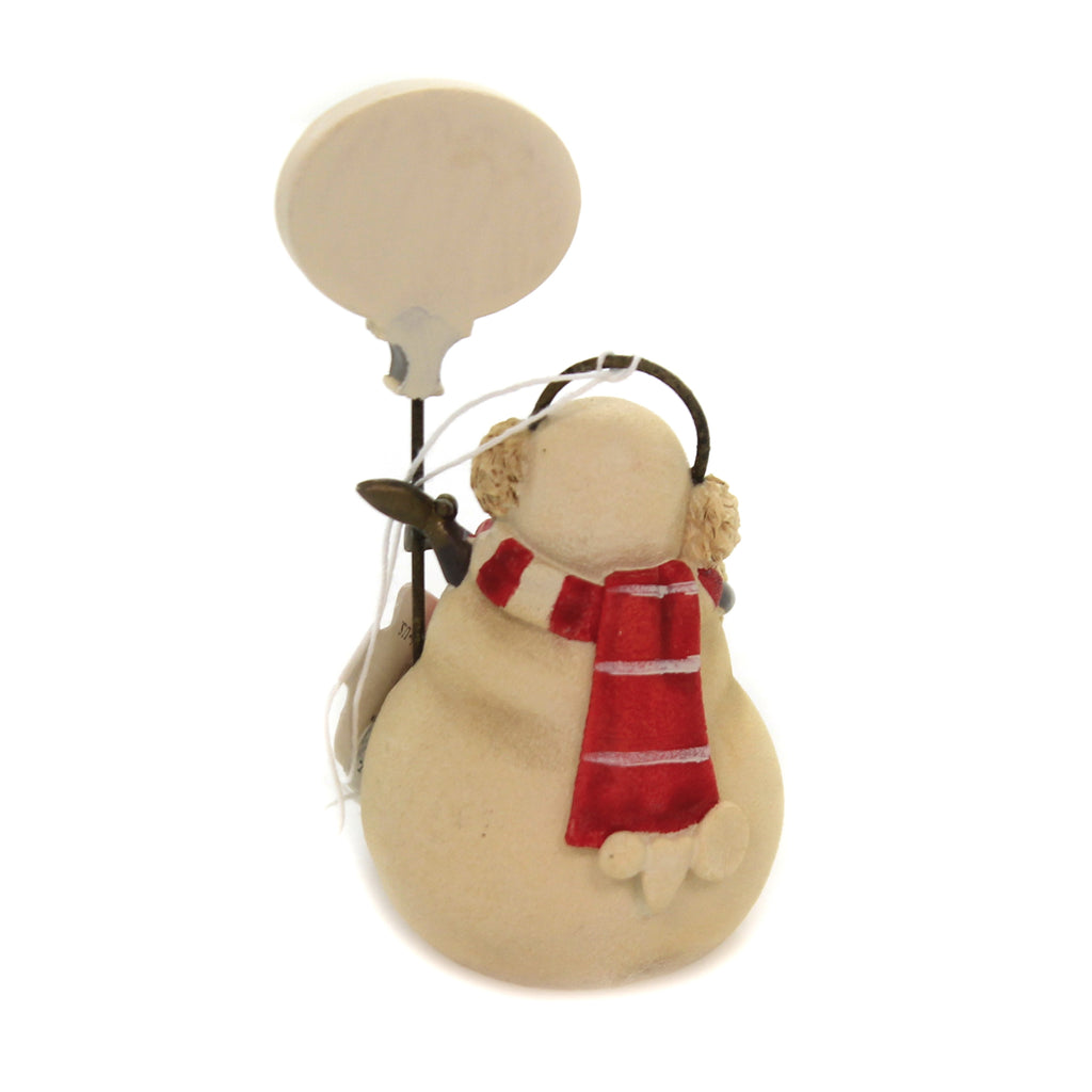 Christmas TIS THE SEASON SNOWMAN Polyresin Heart Of Christmas 6004116