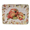 Tabletop HARVEST SPLASH PLATTER Ceramic Thanksgiving Fall Pumpkins 41860Rm