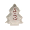 Tabletop BE JOLLY TREE SHAPED BAKEWARE Stoneware Merry Bright 9736941S