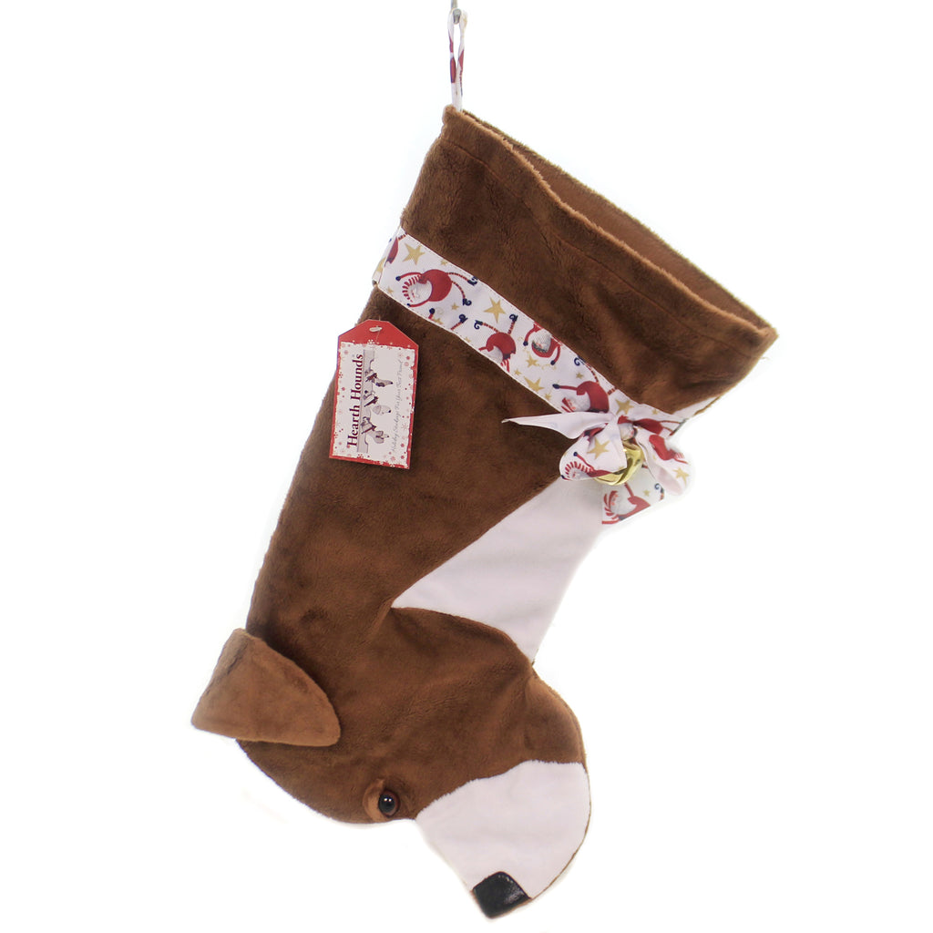 Christmas AMERICAN PITBULL STOCKING Fabric Dog Puppy Pet Hh19