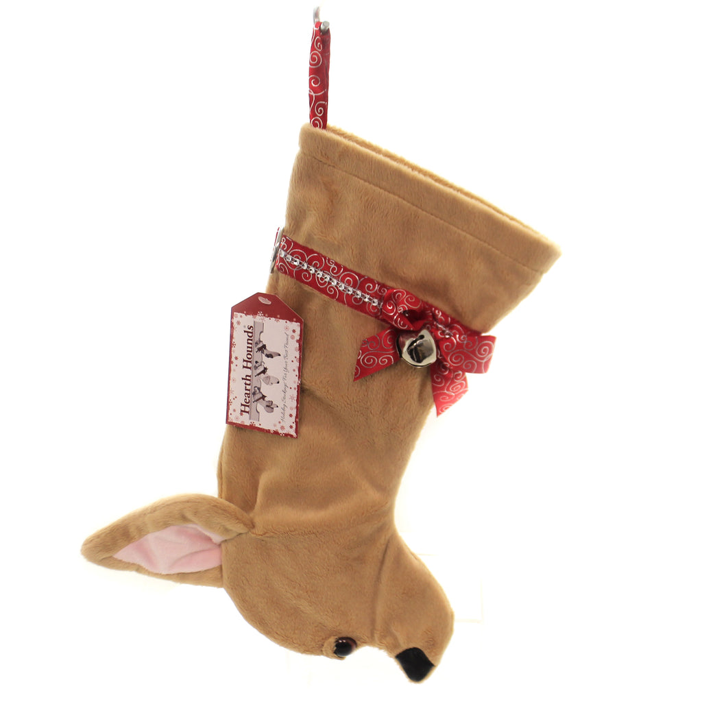 Christmas CHIHUAHUA STOCKING Fabric Dog Puppy Best Friend Hh17